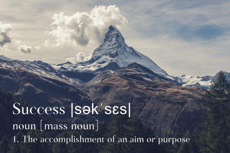 Succes en de Matterhorn